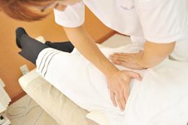 膝の痛みのイメージ